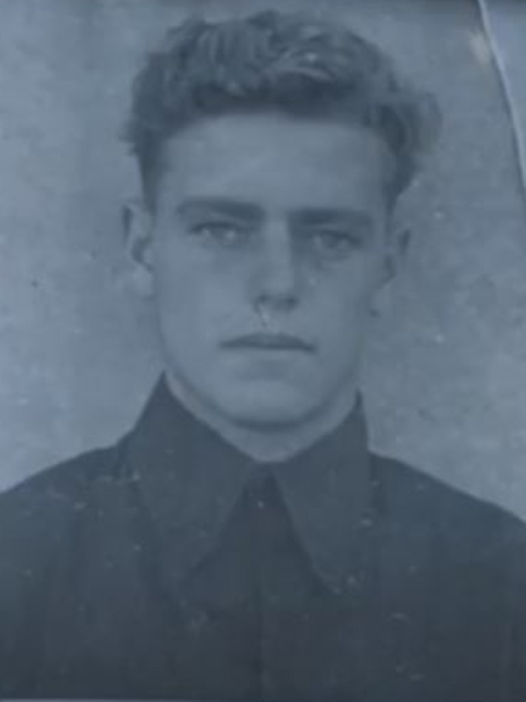 Robert Driver at 16 when he joined the RAAF.