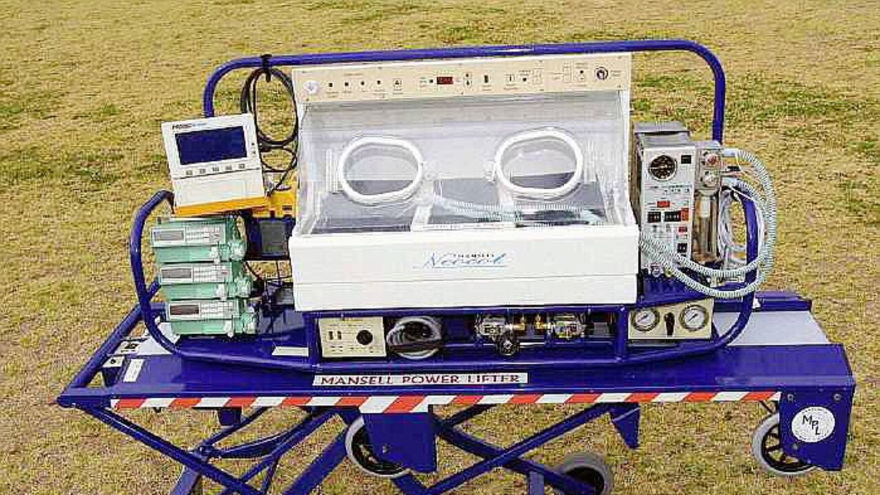 The Mansell Neonatal Retrieval System. Picture: Supplied