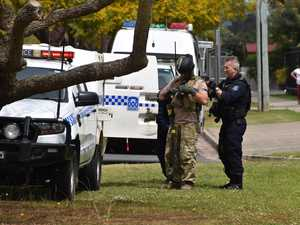 Heavy police presence at Grafton property