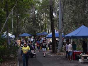 OUT AND ABOUT: Gladdy turns up for Rotary markets