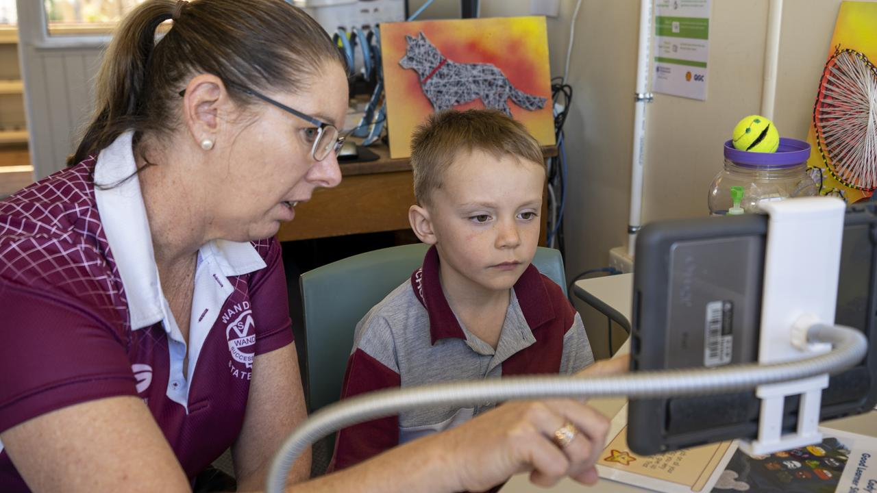 HELPING HAND: Amie Pearce, whose son Cody has been linking with speech pathologists through Health-e-Regions since the start of the year. Pic: Supplied