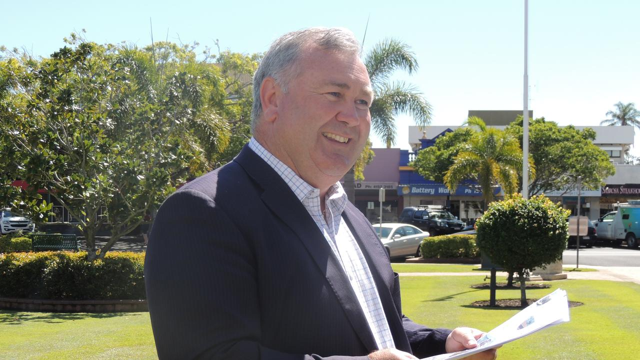 COUNCIL MEETING: Bundaberg Regional Council Mayor Jack Dempsey says the Civic and Cultural Arts Centre project will help to revitalise the Bundaberg CBD.