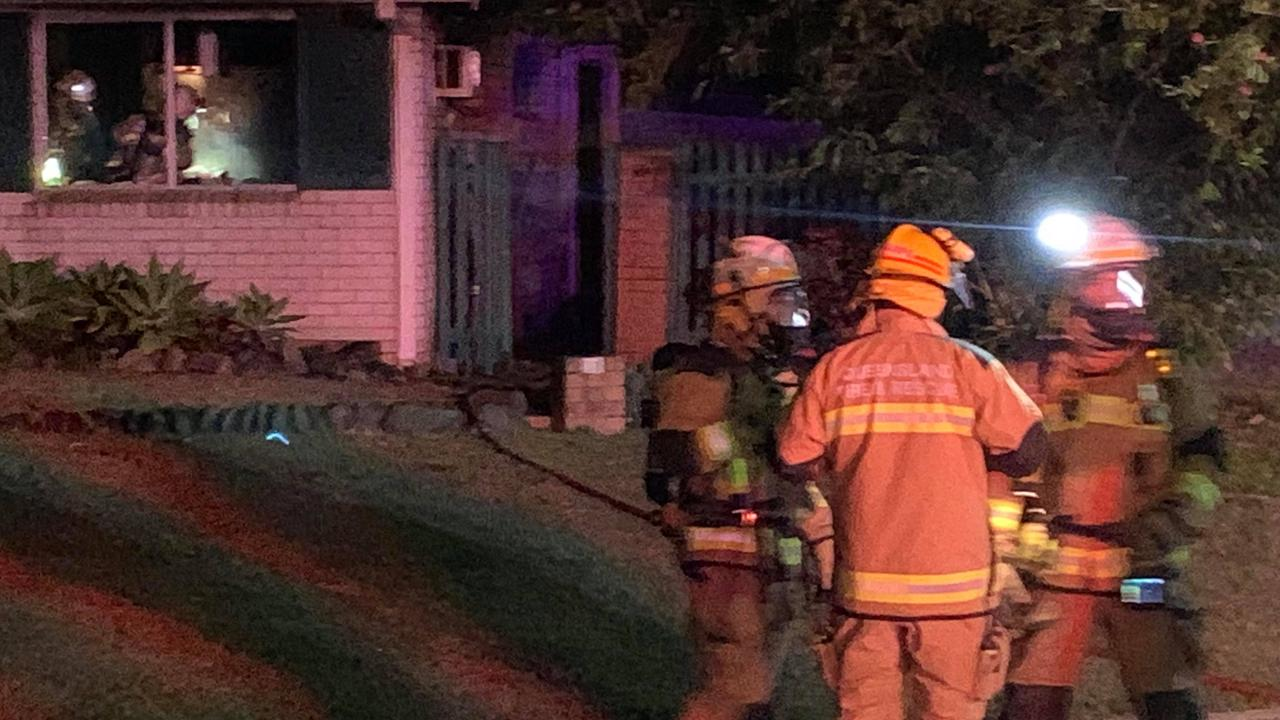 Emergency services controlled a house on the corner of Raymond Croker Ave and Karl Langer crescent, Mount Pleasant, on Saturday September 20 at 11.15pm.