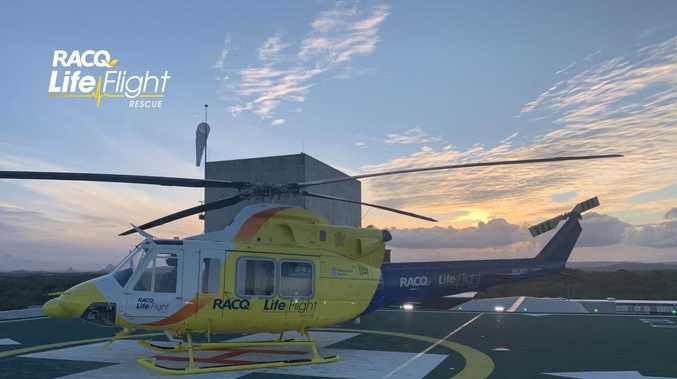 Two motorcyclists airlifted from South Burnett in 24 hours