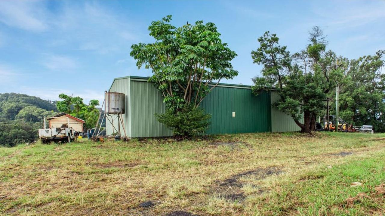 Not a fan of development? Why not spend $9 million on the sprawling 55-hectare property yourself and live in this shed.