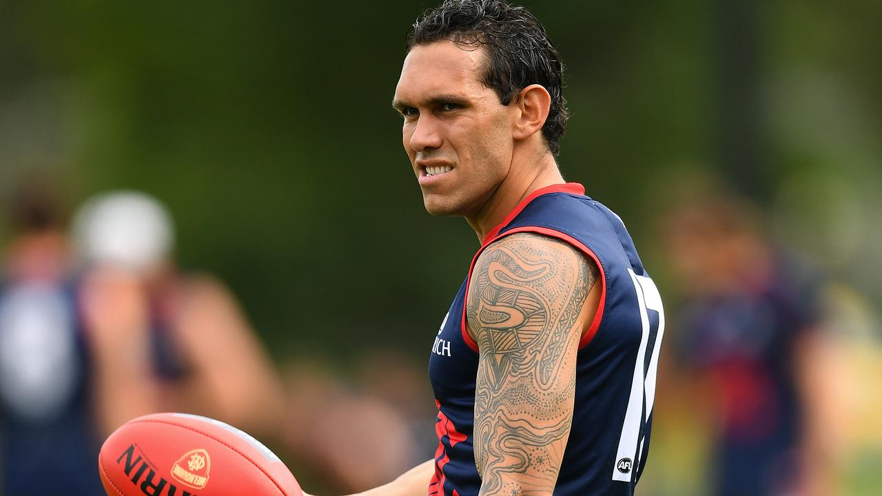 Bennell pictured at training earlier this year. Picture: Quinn Rooney/Getty Images