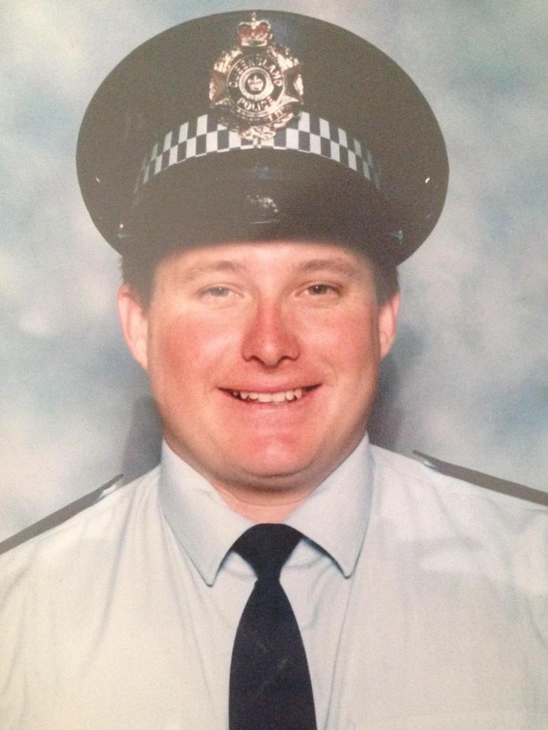 Slain police office Brett Forte. Picture: supplied