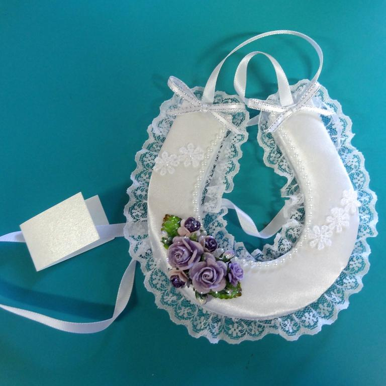 Sarina Arts and Crafts Centre artist Theresa Sant has been crafting wedding charms and garters for the past 30 years.