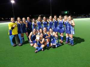 The Hancocks women's A-Grade team that won the 2020