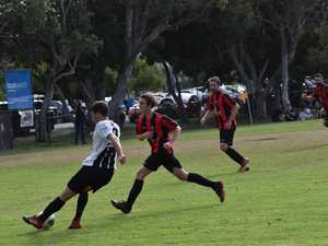 Photos as Byron Bay FC played Alstonville FC for a