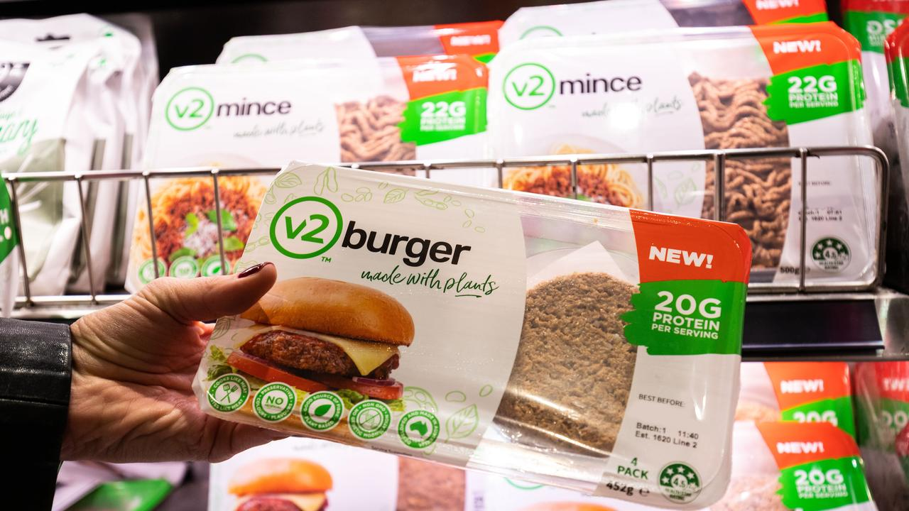 The cost of plant-based v2mince and v2burger is about the same price as regular mince.