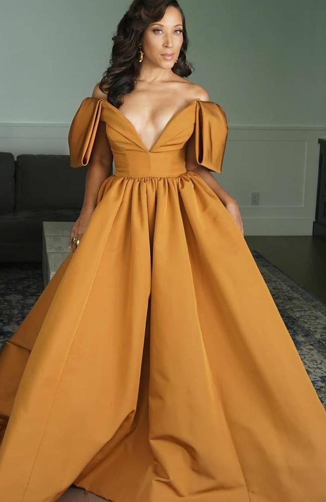 Belle from Beauty and the Beast but make it red carpet fashion.