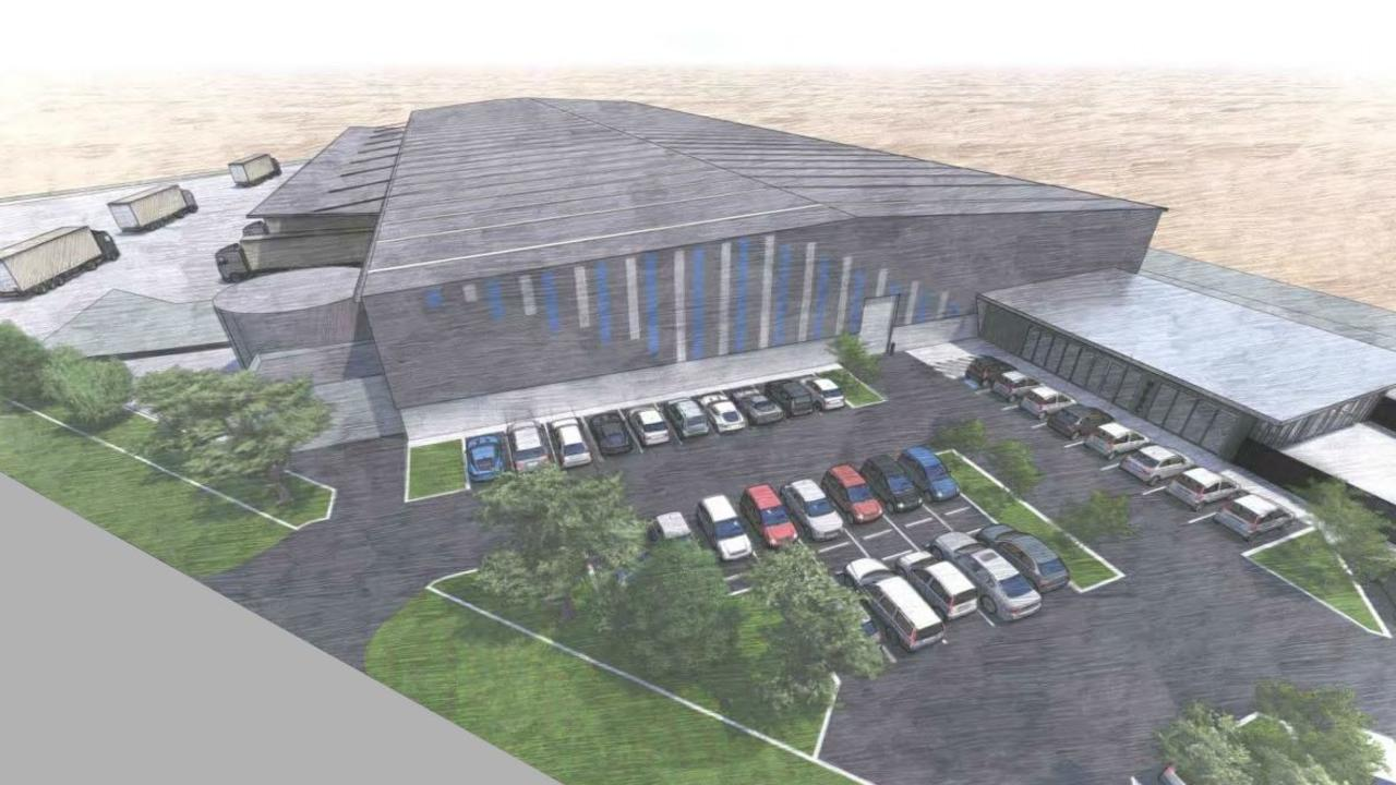 There are plans to build a massive warehouse development in the Redbank Motorway Estate.