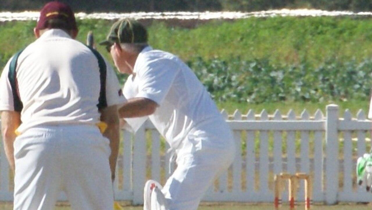 David Frampton batting for Lockyer/Ipswich.