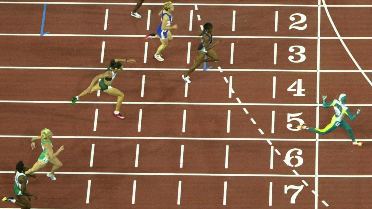 The moment Cathy Freeman became an Olympic champion.