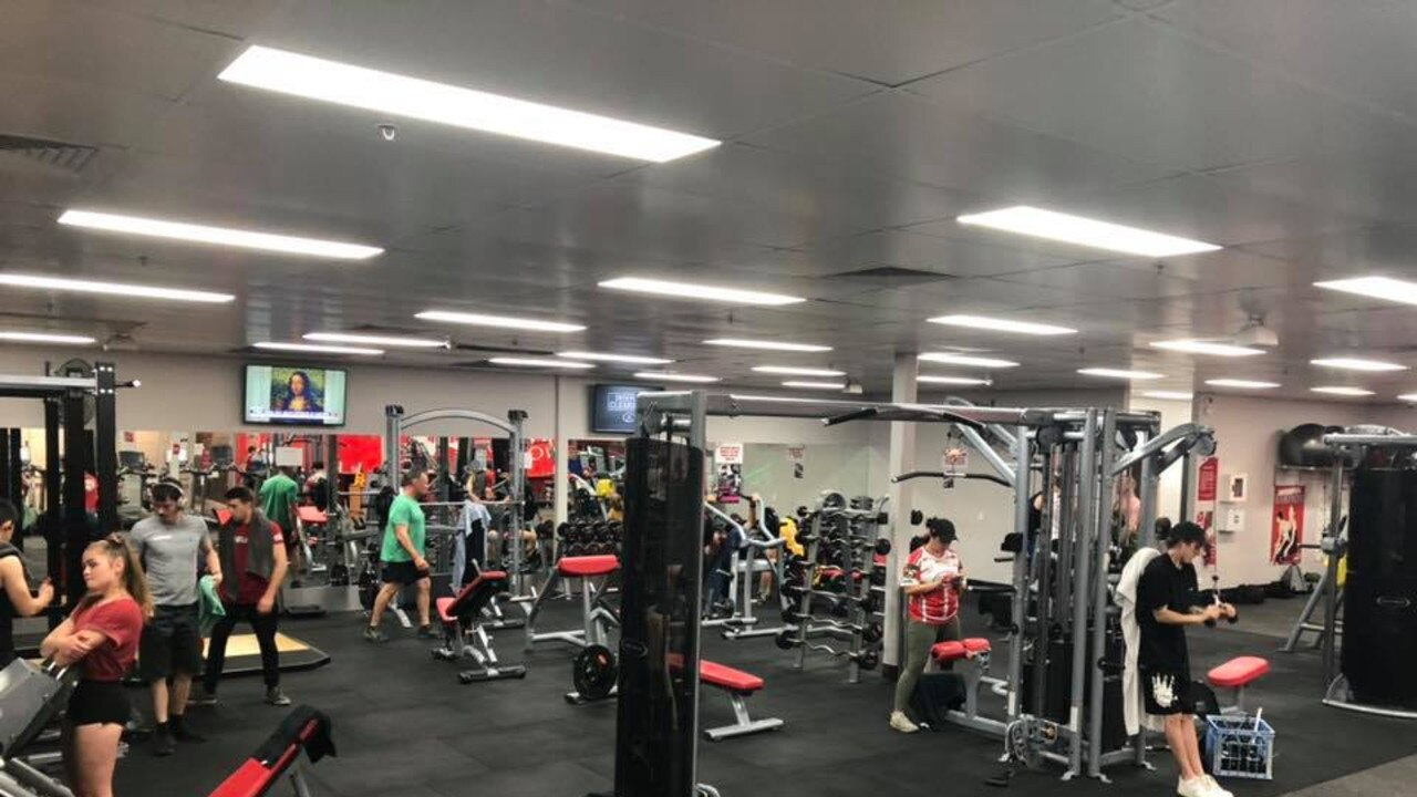 The existing Snap Fitness store at Yeppoon inside Keppel Bay Plaza.