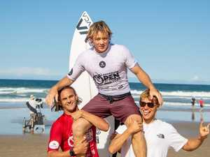 Coast's Coolum blitz in Surfing Pro