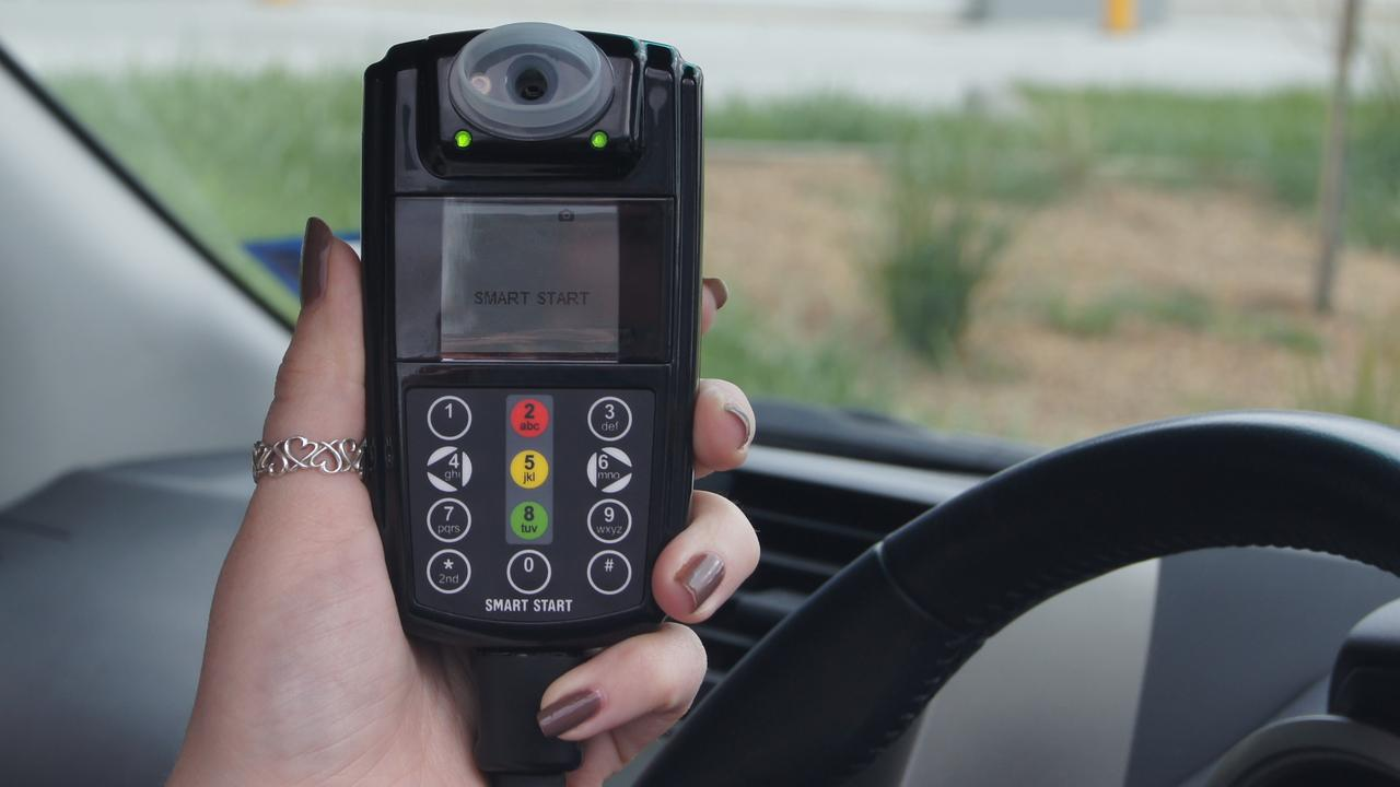 A Gympie man was busted driving without an interlock device last month.