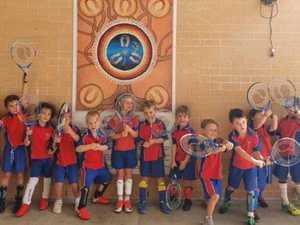 Grafton school's surprise visit from Australian tennis legend