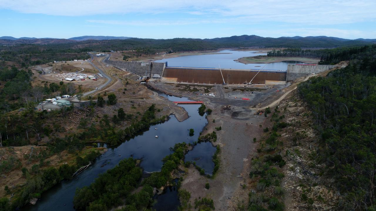 Paradise Dam earlier this year. Photo: Mike Knott.