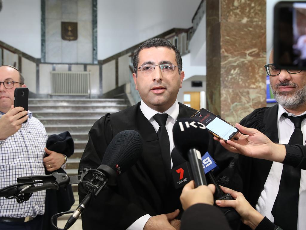 Malka Leifer's defence lawyer Tal Gabay. Picture: Ella Pellegrini