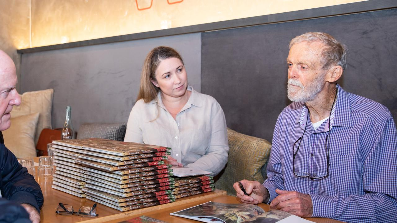 Author Julie Miller and artist Glen Gillard.
