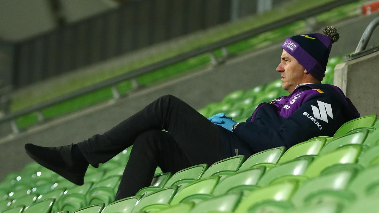 "Melbourne Storm chairman Matthew Tripp has described the Broncos as ""toxic"""