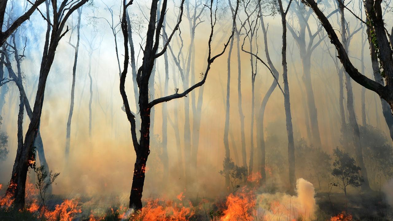A vegetation fire is burning near Kilkivan. File photo.