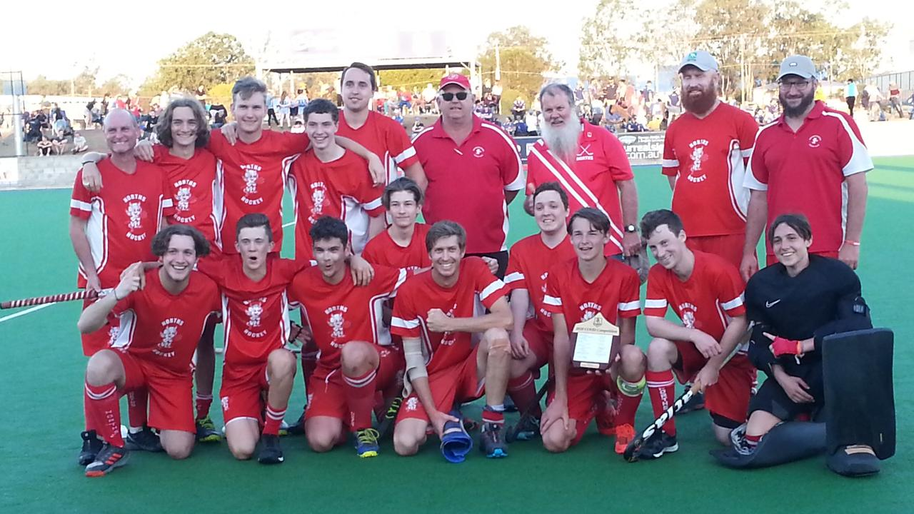 The Norths Reserve Grade team that won the grand final in shootouts. Picture: David Lems