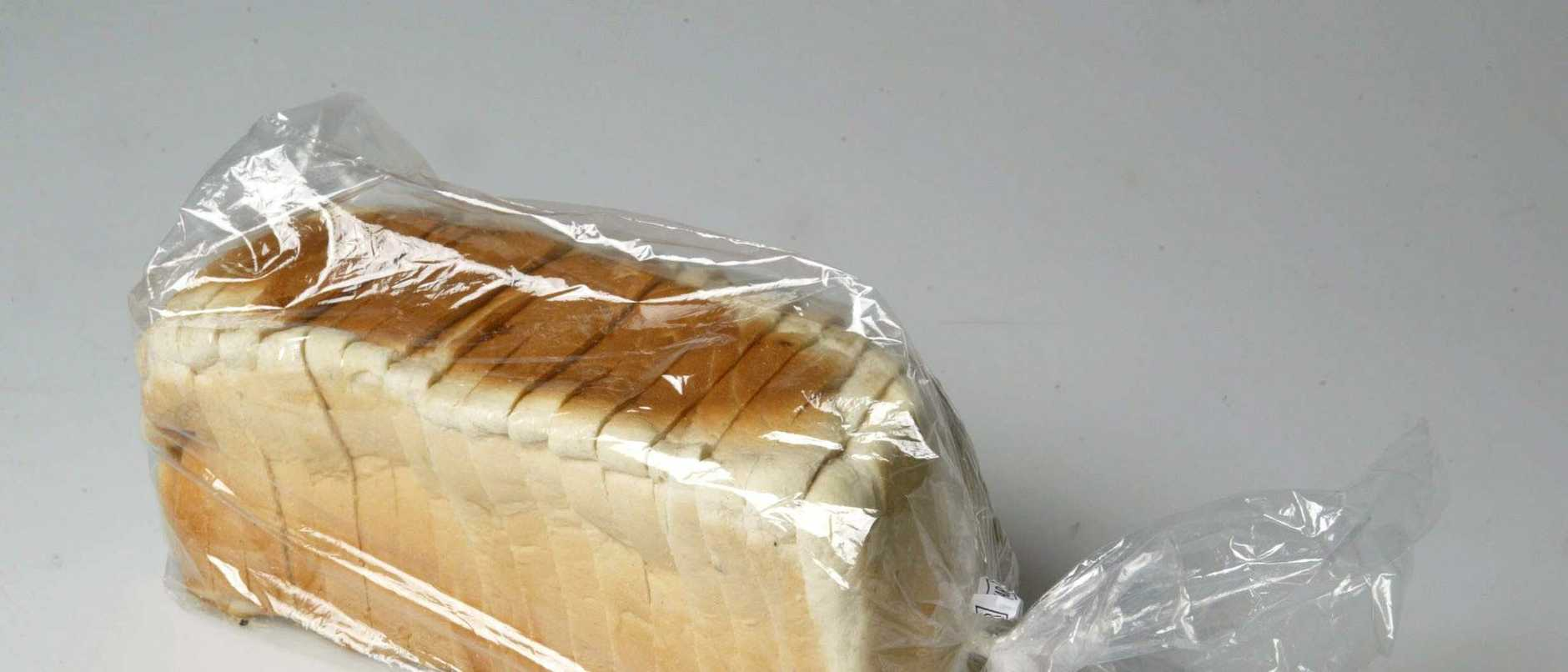 Generic pic of a loaf of sliced white bread.