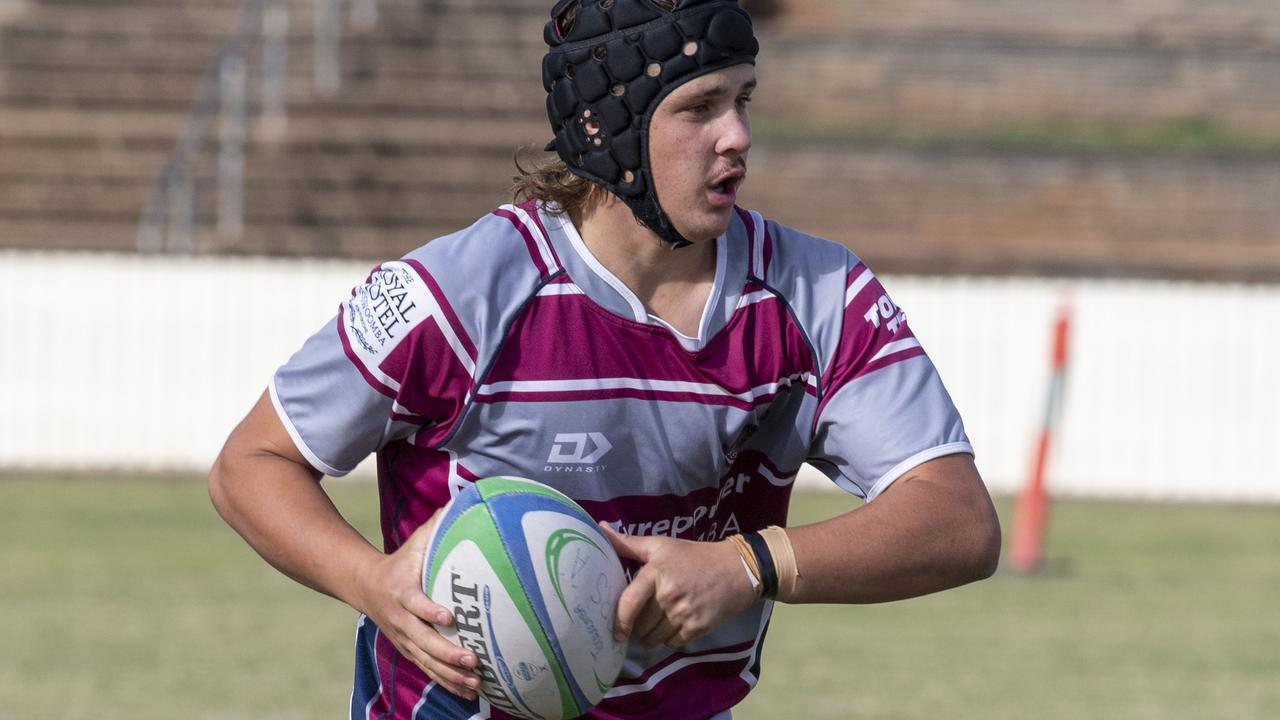 Jacob Gross scored for Bears in their win over Roma Echidnas at the weekend.