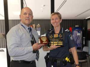 Child protection award presented to Kingaroy police officer