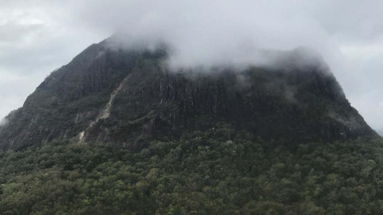 Critical care paramedics are on scene at Mt Beerwah.