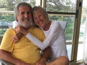 Cancer patient's joy after border backflip