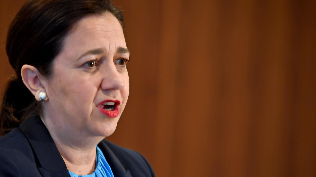 Only 30 per cent of the more than 8000 people who completed the Your Say 2020 sentiment survey trust Premier Annastacia Palaszczuk more than LNP leader Deb Frecklington. Picture: John Gass