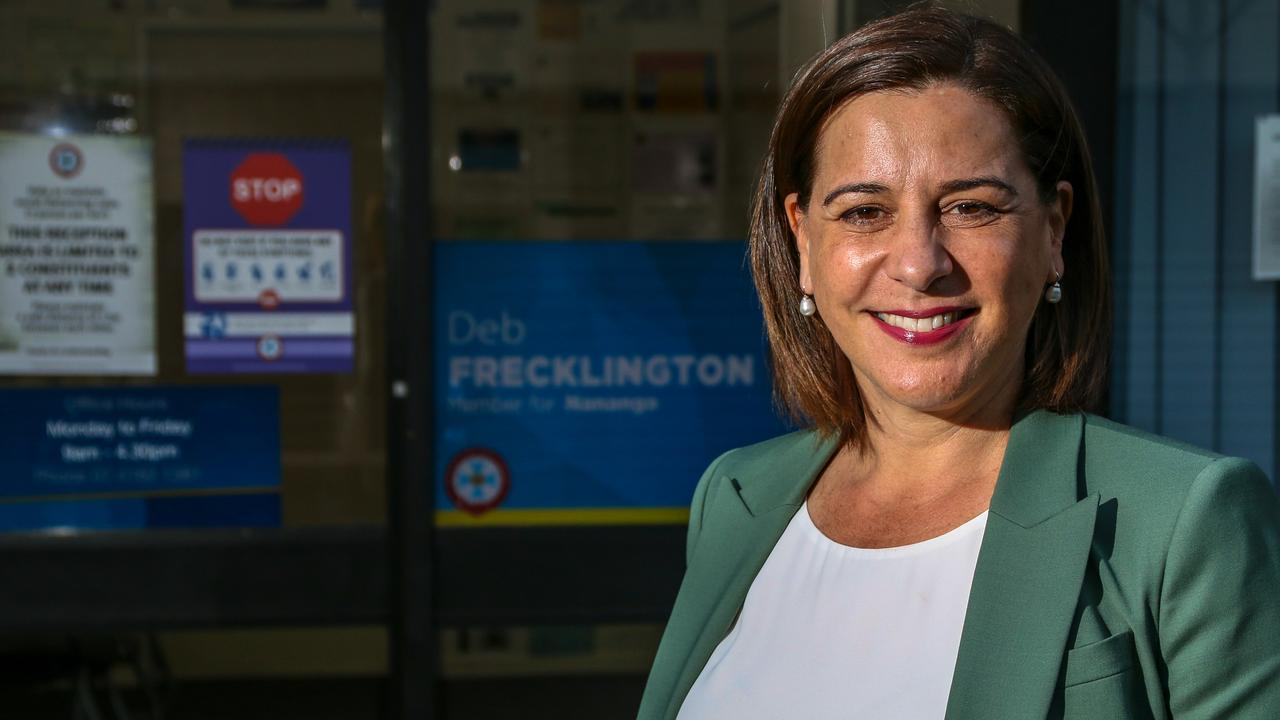 Opposition Leader Deb Frecklington was picked by almost 40 per cent of the more than 8000 people who completed the Your Say 2020 survey as the most capable Picture: Dominic Elsome