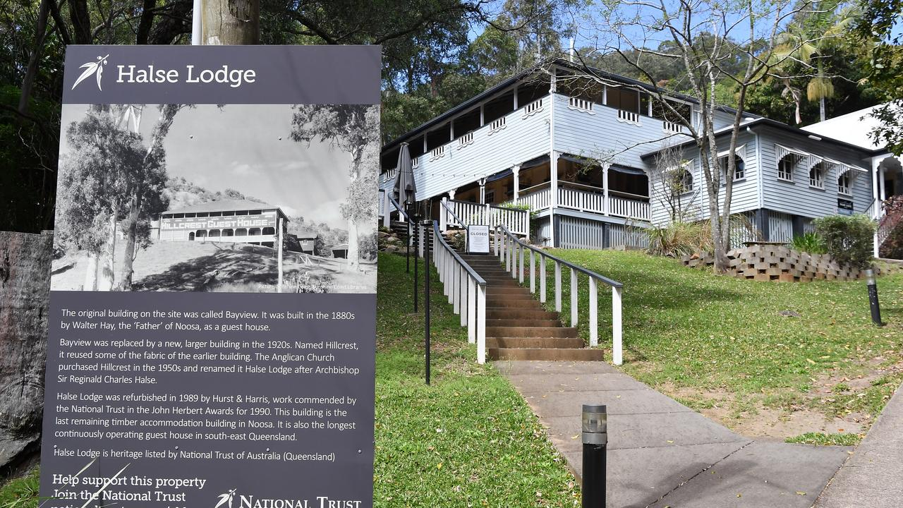 The Anglican Church is testing the real estate market by seeking expressions of interest on its historic Halse Lodge property at Noosa. Picture: Patrick Woods