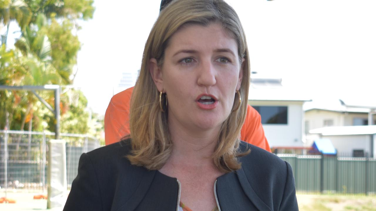 Small Business Minister Shannon Fentiman. Picture: Melanie Whiting