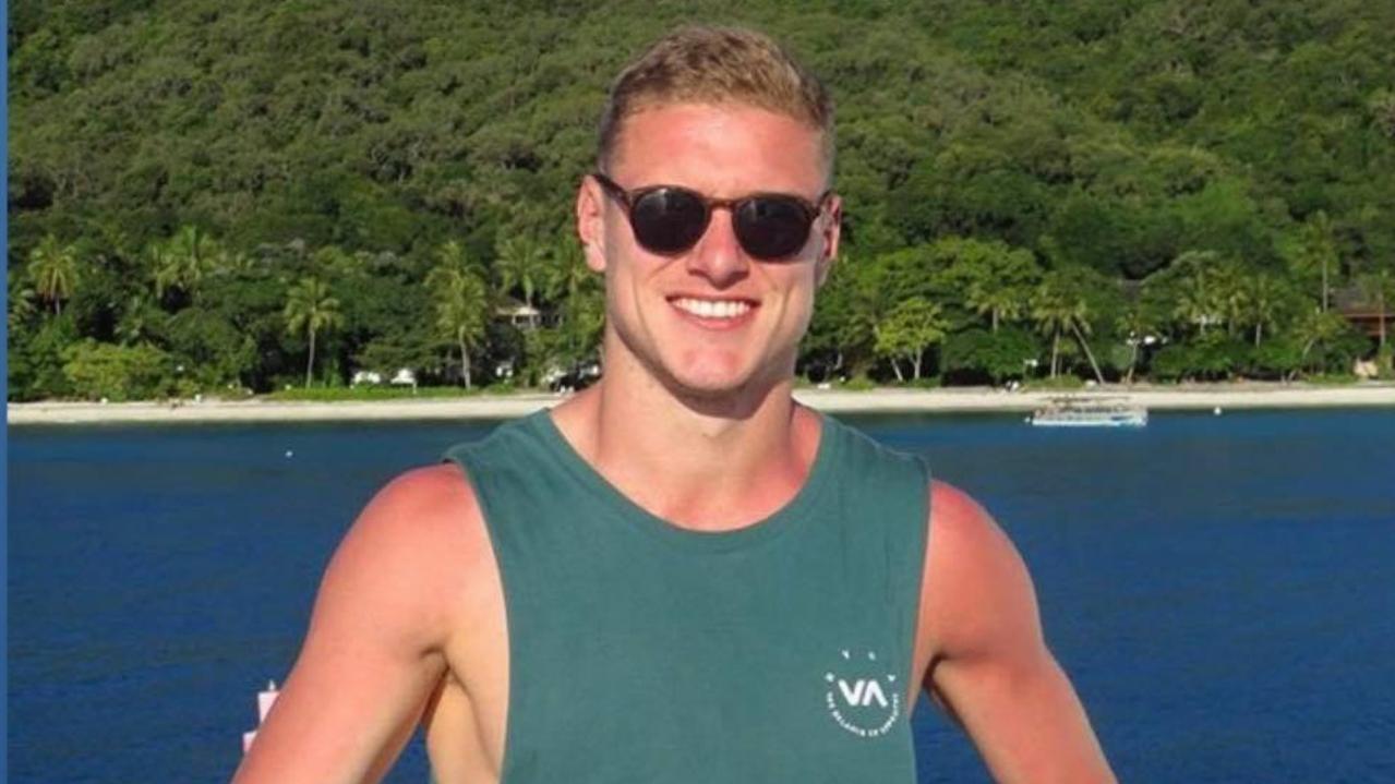 Deklan Gilmartin was killed on Fraser Island in July when the car he was driving rolled near Eli Creek.