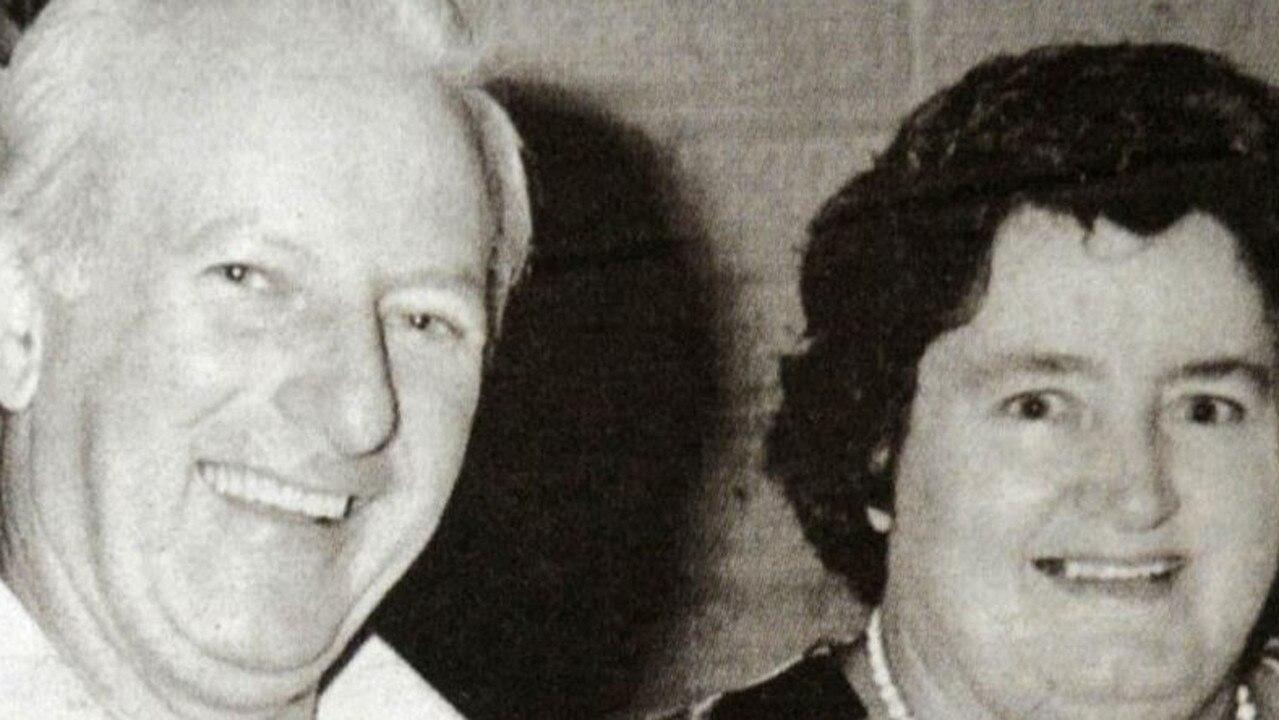 Maryborough couple William and Edith Moffat, were murdered in their Jupiter St, Maryborough, home in 1977.