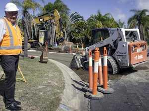 Rehabilitation work underway for 'failing' Fraser Coast road
