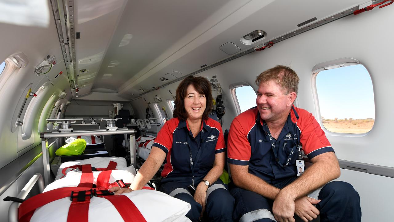 LIFESAVING: The RFDS contributes around $10.3 million to the Rockhampton region every year.