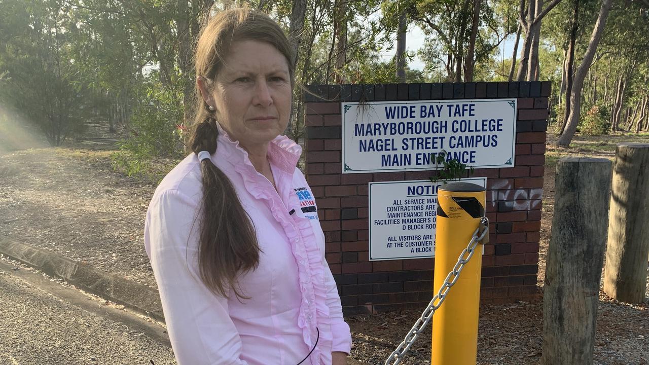 One Nation candidate for Maryborough Sharon Lohse. Photo: Stuart Fast