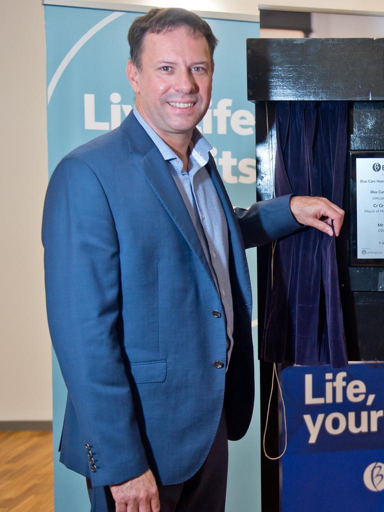 Uniting Care chief executive Craig Barke