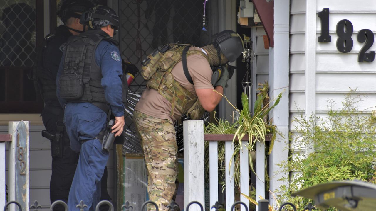 Tactical support was called in to help negotiate with a man who was arrested after a two-hour stand-off with police in Grafton on the morning of Sunday, 20th September, 2020.