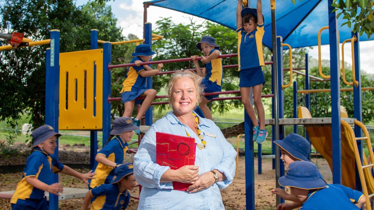 Mount Whitestone State School principal Leticia De Mey. PHOTO: ALI KUCHEL.