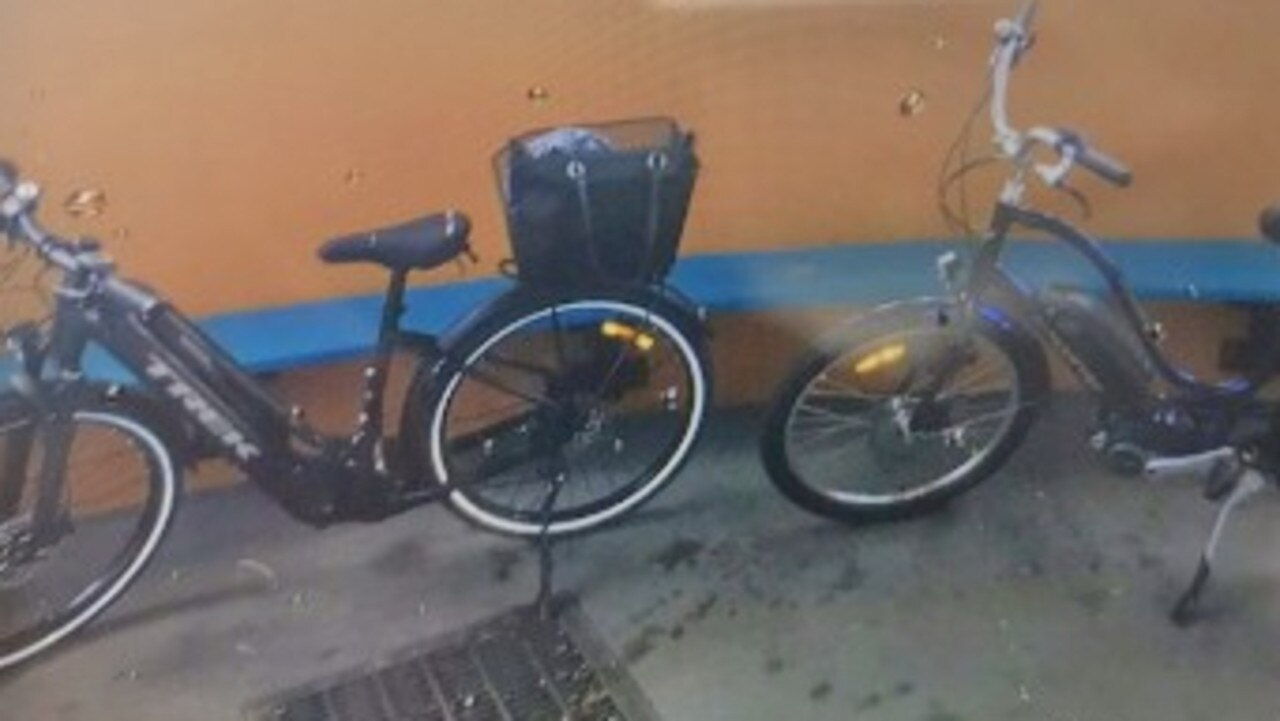 STOLEN BIKES: Police are asking the community to keep an eye out for two blue electric bikes stolen on September 10.