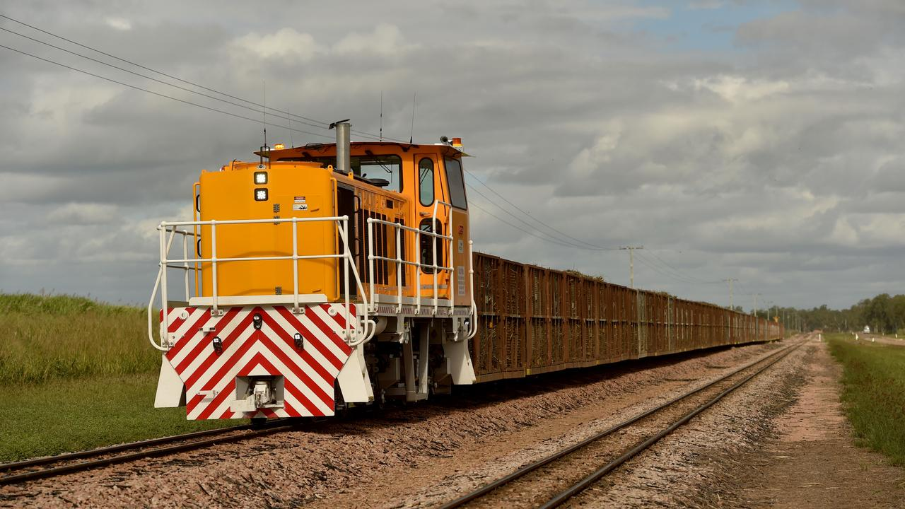 Police have issued a warning about cane train safety after a crash at Myrtlevale on Monday. Picture: Evan Morgan / file photo