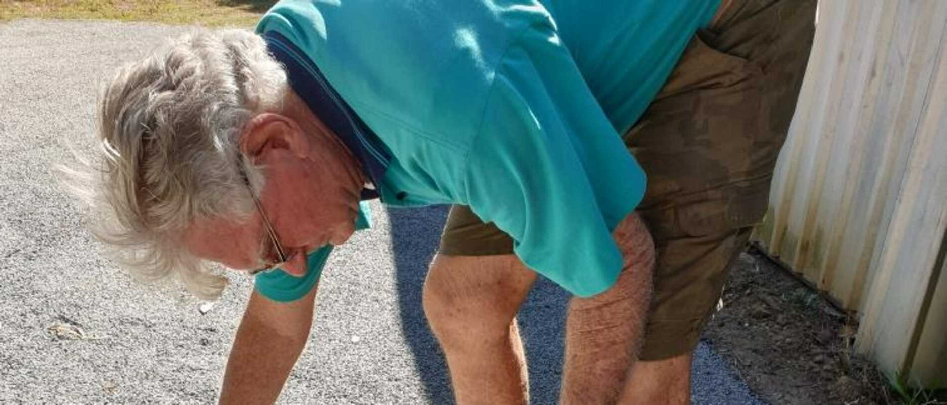 It's a well-known driveway scam usually directed at elderly homeowners but this time the bitumen bandits lost out -  here's why.