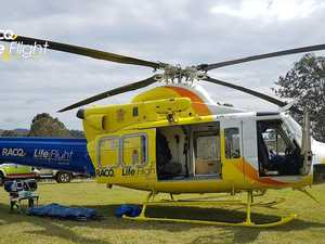 Rescue chopper called to Gympie region motocross crash